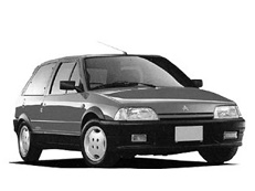 Citroën Ax 1986 model