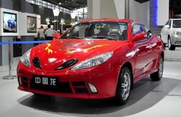 Geely Chinese Dragon 2009 model