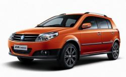 Geely MK Cross 2010 model