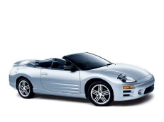 Mitsubishi Eclipse Spider 2004 model