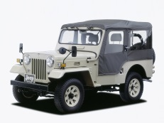 Mitsubishi Jeep 1986 model