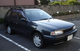 Nissan Sunny California 1990 model
