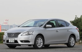 Nissan Sylphy 2012 model