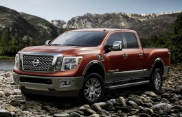 Nissan Titan XD 2016 model