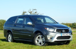 SsangYong Korando Sports 2012 model