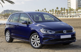 Volkswagen Golf Sportsvan 2014 model